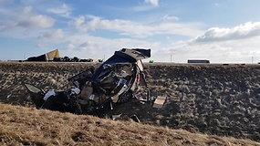 Netoli Ukmergės avarijoje žuvo Rusijos piliečiai