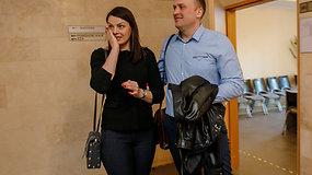 """Rasa Kazėnienė po teismo posėdžio: """"Emocijos pasireiškė džiaugsmo ašaromis"""""""