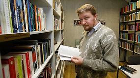 """""""Gyvenimo knygos"""". Paulius Gritėnas – apie įsiminusius skaitinius, filosofiją, grafinius romanus ir knygų prasmę"""