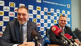 Arvydas Sabonis pasisakė, kodėl treneriu išrinko Darių Maskoliūną