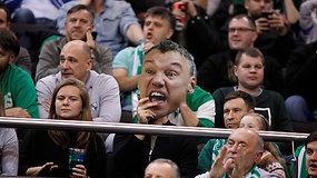 """Pamatykite: L.Lekavičiaus tritaškiai, Z.LeDay blokai ir """"Žalgirio"""" pergalė prieš """"Maccabi"""""""