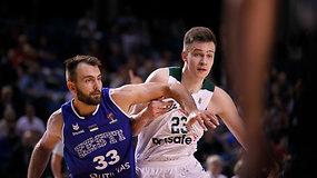 """Marekas Blaževičius apie pralaimėjimą estams: """"Krepšinis sudėtas iš mažų detalių"""""""
