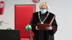 Kauno teisėja skelbia nutartį Varėnos avarijos byloje