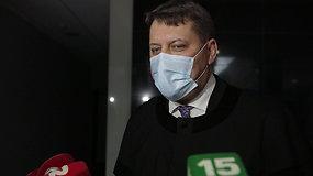 Advokato Lino Kuprusevičiaus komentarai po teismo verdikto
