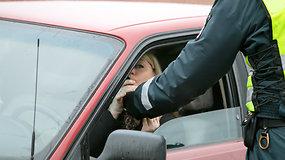 Kauno vairuotojo prisipažinimas apie važiavimą išgėrus