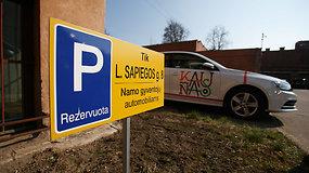 Byla prieš Kauno savivaldybę: žmonės jaučiasi apspisti tarnybinių automobilių