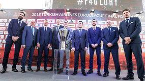 Eurolygos finalo ketverto spaudos konferencija