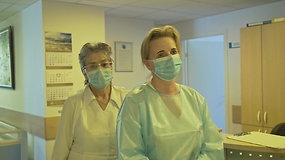 #PriešakinėseLinijose. Slaugytoja Rasa Savickienė – apie 8 paras trukusią izoliaciją skyriuje