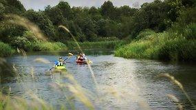 """Ekspedicija """"Baidarė upėje"""" Minijoje: turistams draugiška civilizacija ir išbandymas kilometrais"""