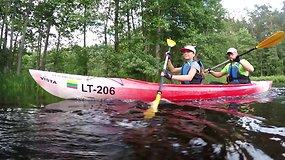 """Ekspedicija """"Baidarė upėje"""": valdžios užmiršta Žeimenos upė, idealiai tinkanti šeimoms ir """"žaliems"""""""