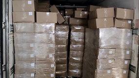 Pro Kybartus bandyta įvežti po silke slėptus kontrabandinius rūkalus