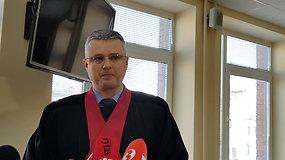 Prokuroras A.Velutis apie nuosprendį šnipinėjimu kaltintam vyrui
