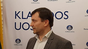 Uosto direkcijos vadovas V.Paukštė komentuoja situaciją dėl gyvsidabrio