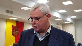 Klaipėdos meras: Klaipėda palikta nežinioje