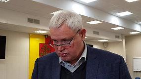 Klaipėdos meras V.Grubliauskas: audra stipriai suniokojo pajūrį
