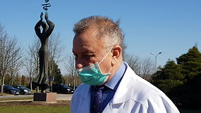 KUL vyr.gydytojas: serga 12 darbuotojų