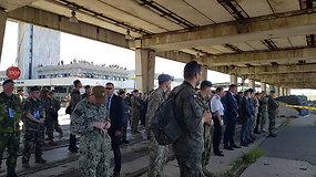 Įspūdingo masto pratybos Klaipėdoje: jas stebi du aukščiausio rango NATO generolai