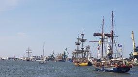"""Jūros šventėje – """"Baltic Regatta 2021"""" burių paradas"""