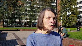 Mitingas Klaipėdoje: norime, kad Galimybių pasas būtų panaikintas