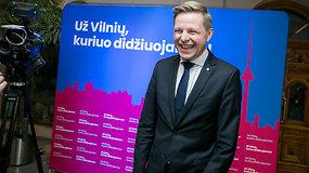 Vilnius renka merą: R.Šimašius tikras dėl antro turo
