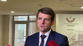 """Iš Seimo vicepirmininko pareigų atleistas R.Žemaitaitis: """"Tai yra politinis sprendimas"""""""