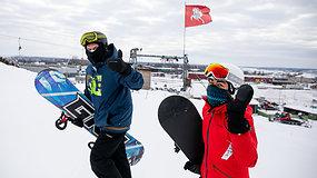 Pradeda veikti lauko slidinėjimo centrai: ar pavyks užtikrinti saugumą?