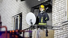 Lazdynuose per gaisrą žuvo du žmonės