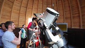 Etnokosmologijos muziejuje buvo stebimas Merkuriaus tranzitas per Saulę