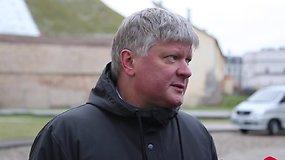 Aplinkos ministras Kęstutis Navickas paaiškino, kodėl griūva Gedimino kalnas