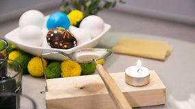 Patarimai, kaip marginti kiaušinius vašku