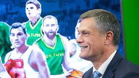 """L.Kvedaravičius apie rinktinės žaidimą: """"Galima galvoti apie gerą čempionato baigtį"""""""