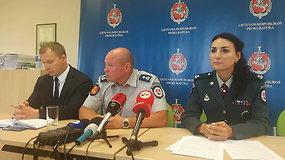 Klaipėdos kriminalistai pristatė baigtą ypač sudėtingą vagysčių tyrimą