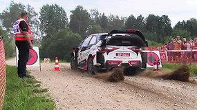 """""""Rally Estonia"""": testinis greičio ruožas ir lietuvių įspūdžiai"""
