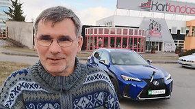 """""""Duobių matuoklis"""": Laisvės pr. važiuojant link Fabijoniškių"""
