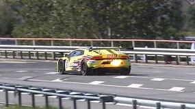 """""""Aurum 1006 km"""" kvalifikaciją laimėjo Konstantinas Calko su slovakų """"Lamborghini"""""""