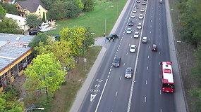 Policininkai auklėjo po vasaros atostogų KET pamiršusius vairuotojus
