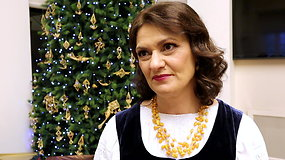 Pirmoji ponia Diana Nausėdienė apie šeimos tradicijas per Kalėdas