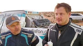 """""""Petrus racing"""" šturmanas Tomas Jančys: """"Ryte netikėjom, kad grįšim su šviesa"""""""