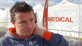 Antanas Juknevičius poilsio dieną pasinaudojo medikų paslaugomis