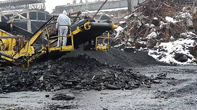 """""""Toksika"""" komercijos vadovas L.Andronavičius aprodė, kas po gaisro liko """"Ekologistikoje"""""""
