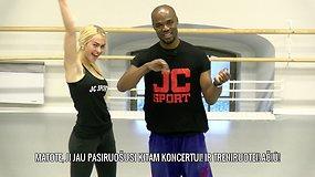 JC SPORT treniruotė: pilvo, krūtinė ir nugaros raumenų stiprinimas