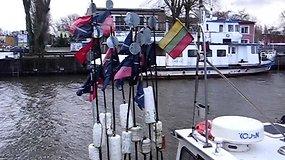 Dėl sustiprėjusio vėjo Klaipėdos uoste pradėta riboti laivyba