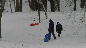 Į Vilnių atkeliavo žiema