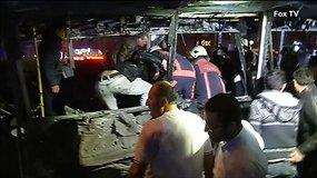 Mirtininko bombos sprogimo padariniai Ankaroje