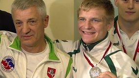 Boksininkas Evaldas Petrauskas džiaugiasi iškovojęs kelialapį į olimpines žaidynes