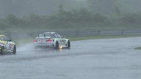 """""""Hankook Baltic 1000 km race""""  startas ir pirmasis BMW suktukas ant šlapios trasos"""