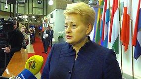 Dalia Grybauskaitė: Europos Sąjunga turi labiau įsiklausyti į savo piliečių nuomonę