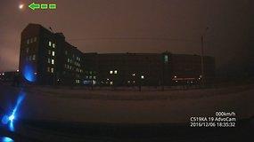 Virš rytų Sibiro praskriejo meteoras