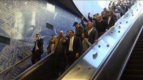 Po 50 metų pertraukos Niujorke atidarytos trys naujos metro stotys