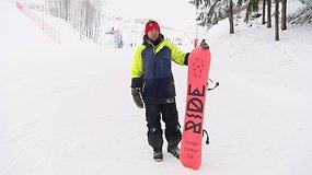 Patarimai pradedančiam: kaip pradėti čiuožti snieglente?